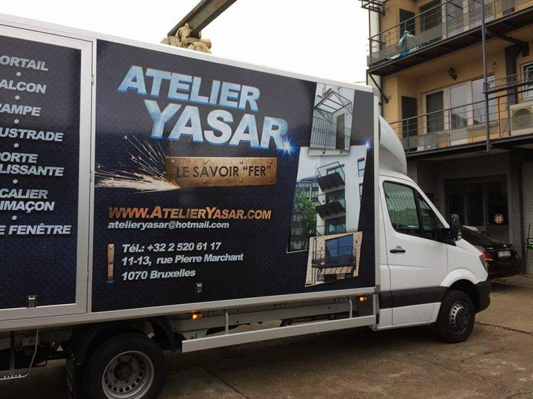 Atelier de Ferronnerie Yasar Bruxelles