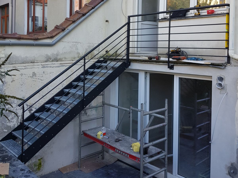 installation atelier ferronnerie yasar bruxelles