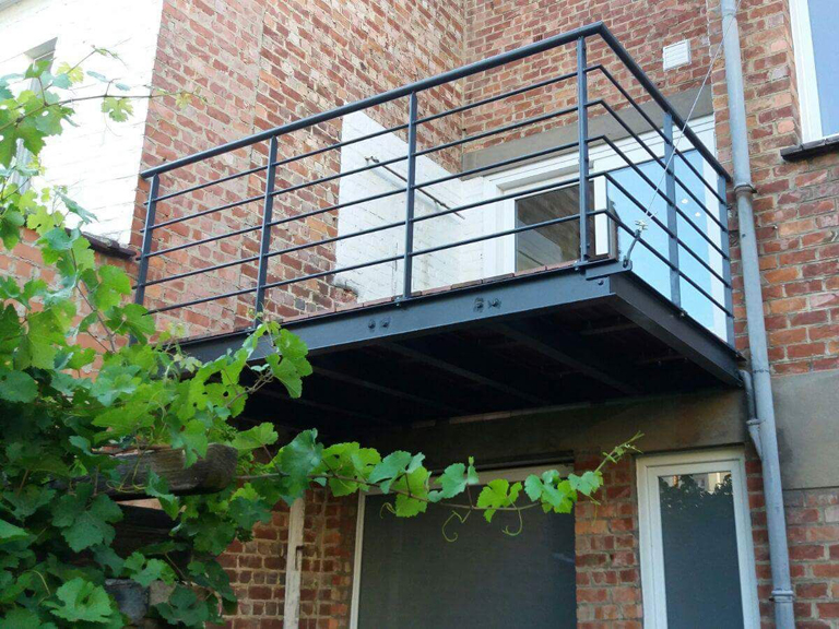 terrasse suspendue woluwe saint lambert 2017 atelier ferronnerie yasar